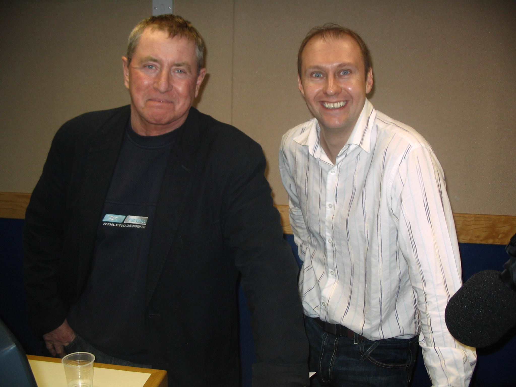 Neil Quigley meets John Nettles