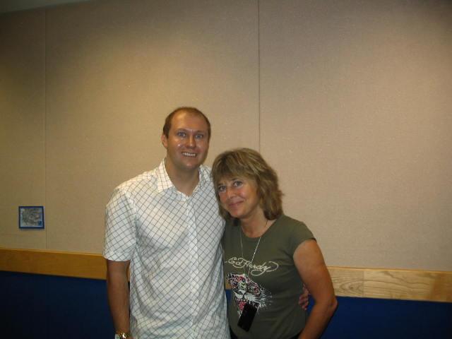 Neil Quigley meets Suzi Quatro