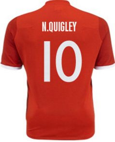 Neil Quigley's Favourite Shirt Number