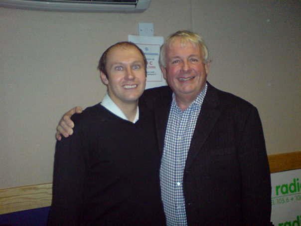 Neil Quigley with Christopher Biggins