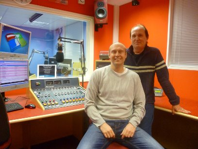 Neil Quigley back at Stoke Mandeville Hospital Radio