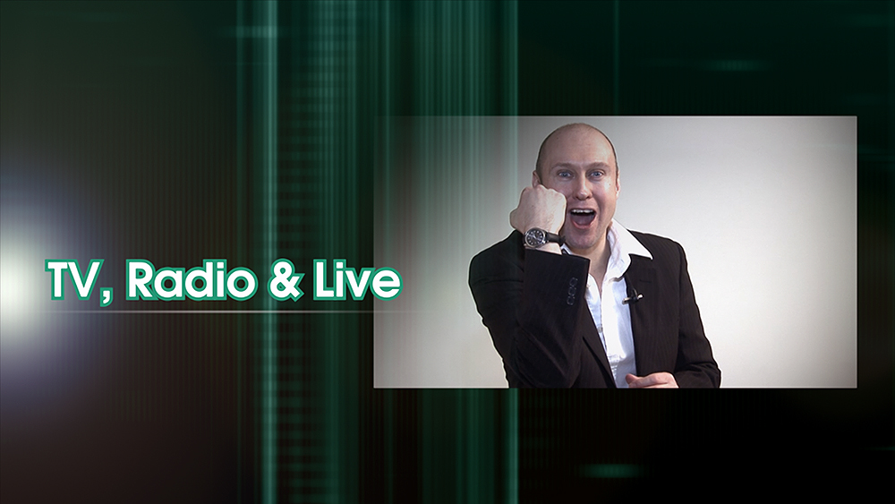 Neil Quigley TV Radio & Live