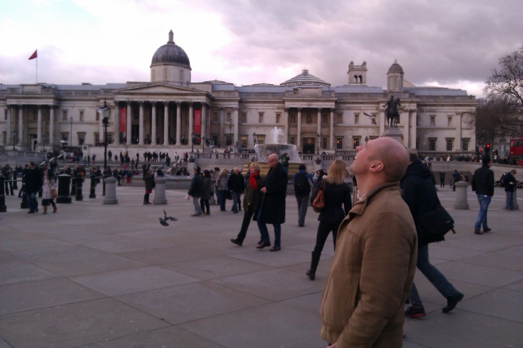 Neil Quigley in London