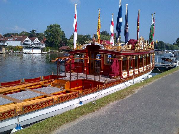 """Gloriana"" looking very regal at Henley Regatta"