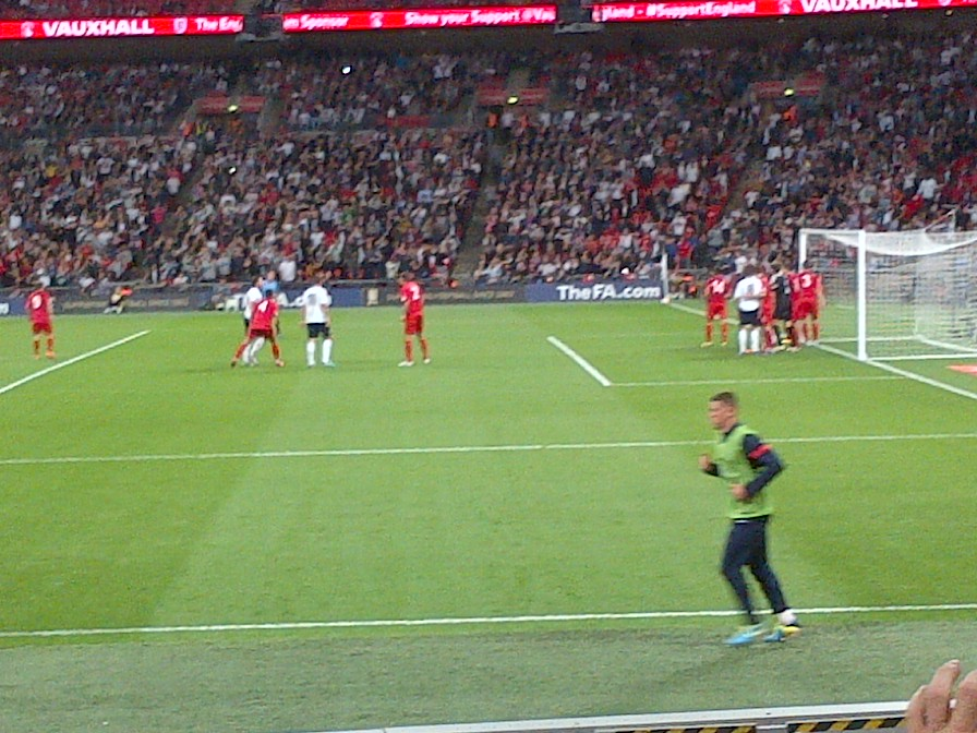 England v Moldova at Wembley Stadium