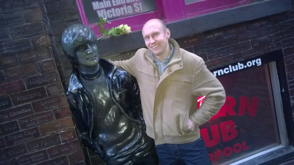 Neil Quigley in Liverpool