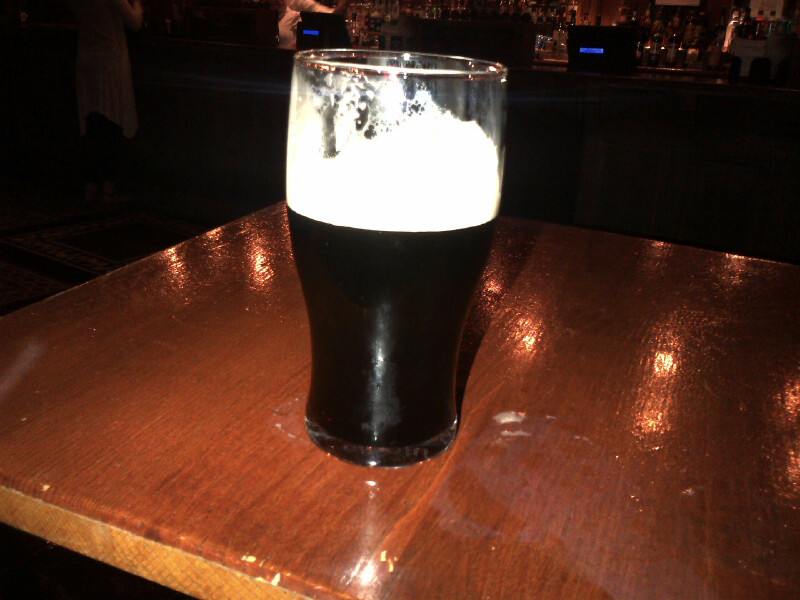 Guinness at Waxy's