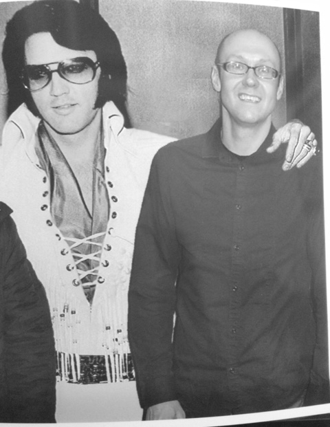 Neil Quigley and Elvis Presley hanging out in the 70's #crazydays