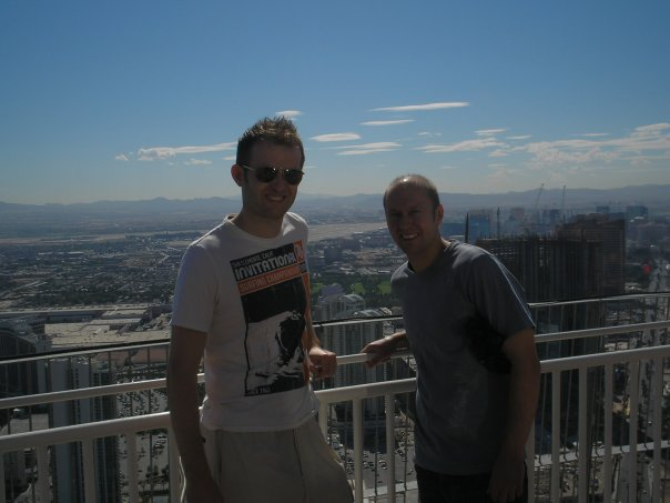 Neil Quigley and Adam Fisher in Las Vegas