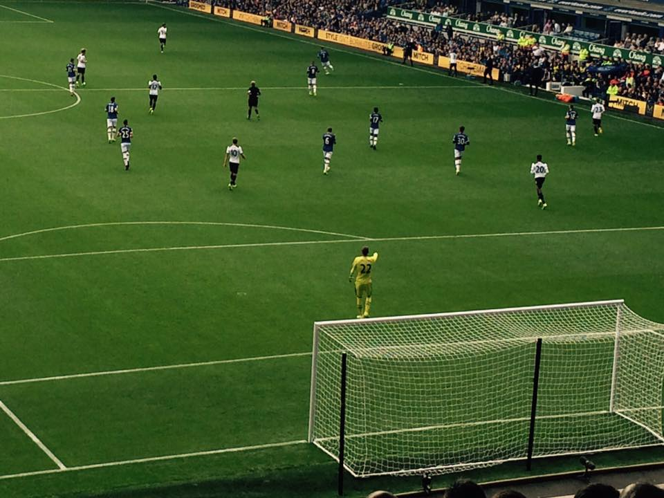 Everton V Spurs 2016