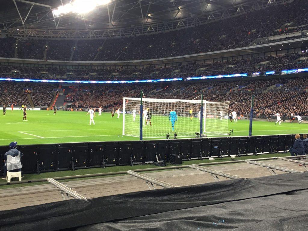 Tottenham at Wembley