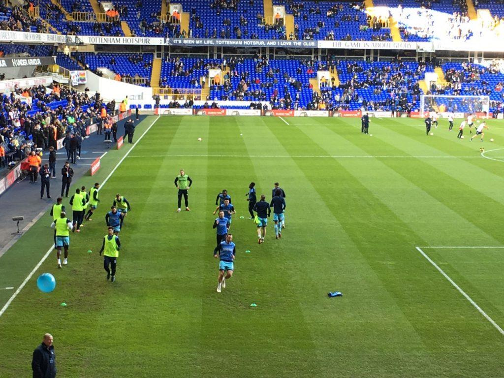 Spurs v Wycombe
