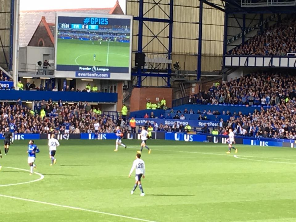 Everton V Spurs