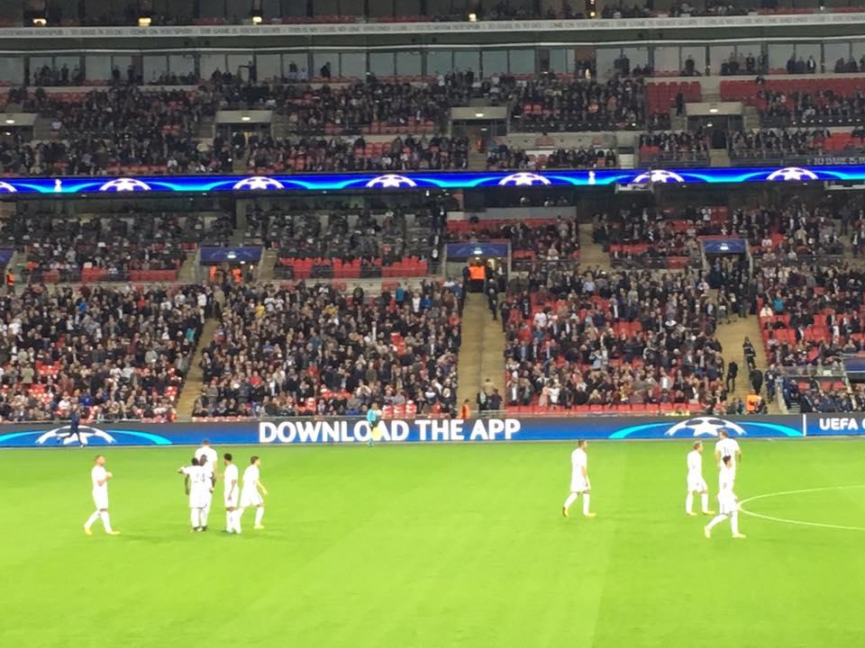 Tottenham V Dortmund