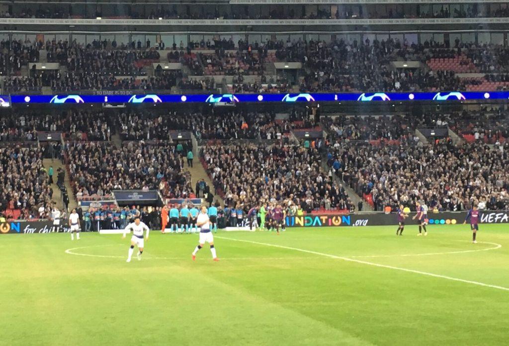 Tottenham v Barcelona