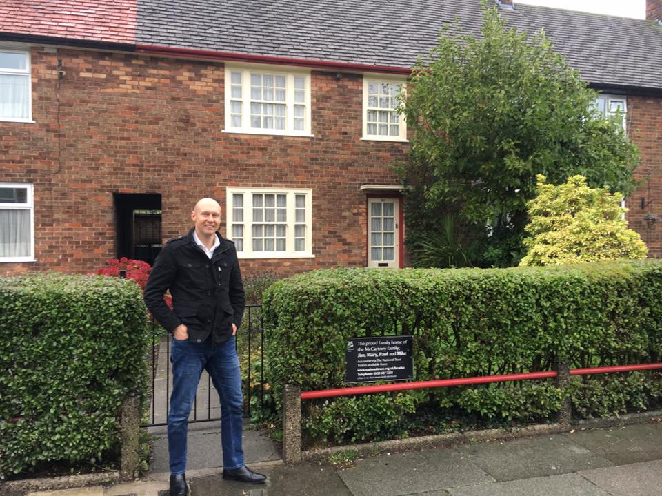 Sir Paul McCartney's place