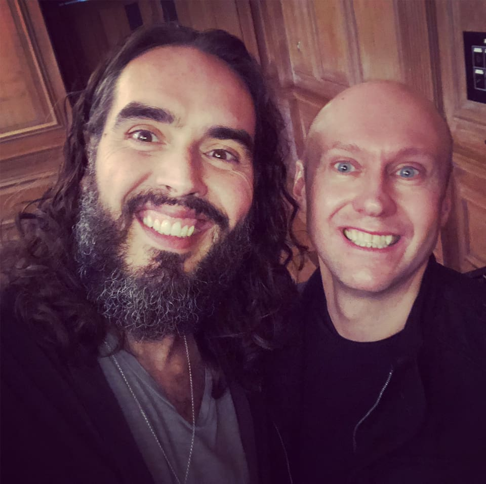 Neil Quigley & Russell Brand