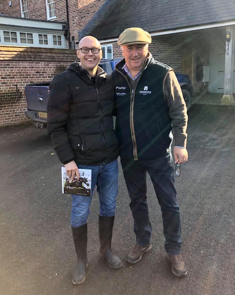 Neil Quigley and Paul Nicholls